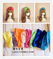Super star Beyonce Favorite 9Color Pink yellow orange hand made cotton hair band turban headband elastic headbands bandana scarf