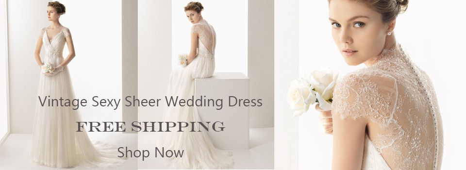 wedding dress banner page