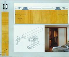 sliding wooden door-2