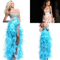 Free_Shipping_Elegant_Sweetheart_Royal_Blue_White_High_Low_Prom_Dresses_2014_Organza_Ruffle_Party_Gowns_Backless_vestidos_de_jpg_200x200