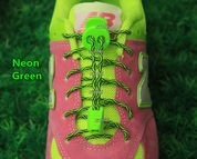 lock laces neon green