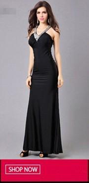 Black Evening Dress 20140317