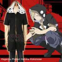 2014 Special Offer Direct Selling VOCALOID Series:Kagerou Project character Kano Syuuya cosplay costume