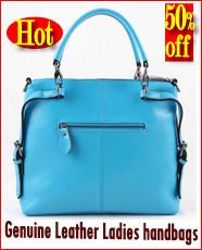 Genuine Leather Ladies handbags