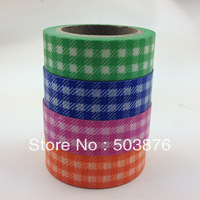 4 rolls/lot 15mm*10m Multipurpose beautiful jungle warning tape essential decoration and paper tape