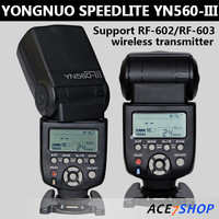 Yongnuo 2.4G Hz Wireless Flash Speedlite Speedlight YN560-III YN560 Marked III For Canon 7D 6D 5D 60D 50D 40D 30D 20D 10D