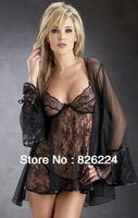 2013 Fetish Dressing Gown Q28 Apparel Womens Top cropped Intimate Plus Size Sexy Underwear Costume Erotic Lingerie Hot Jumpsuit
