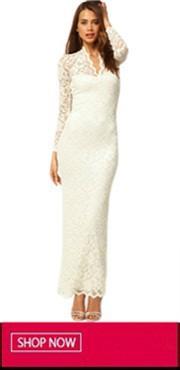 White Lace Dress 20140317