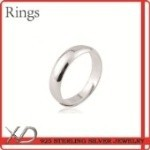 XD 925 sterling silver rings