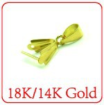 XD 925 sterling silver 18k gold
