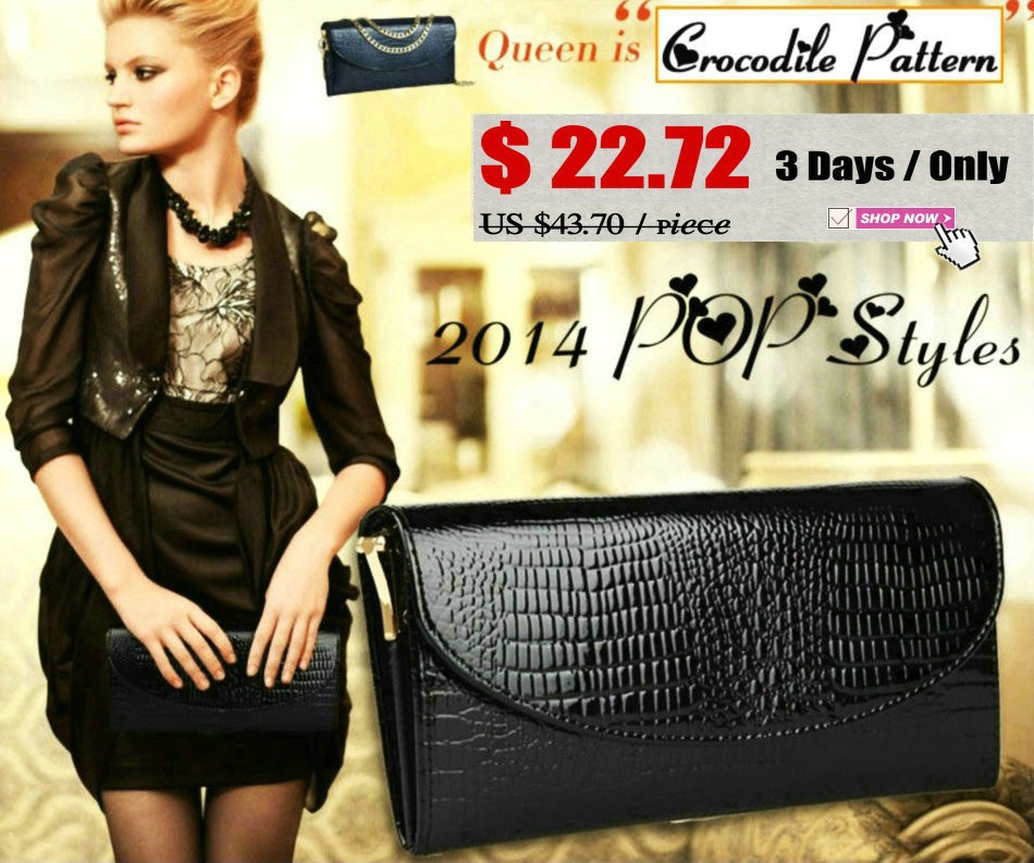 Genuine Leather Clutch Bags DC
