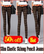Slim pencil jeans