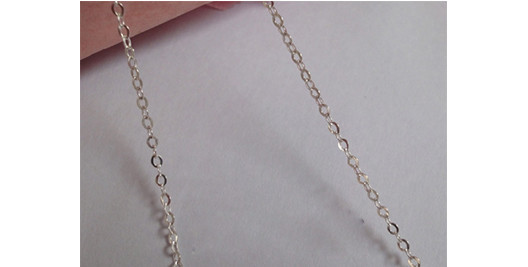 sterling silve name necklace