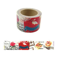 1 rolls/lot 30mm*10m Popular Japanese art design colored decorative gifts and paper tape