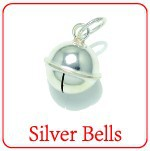 XD 925 sterling silver bells