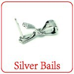 XD 925 sterling silver bails