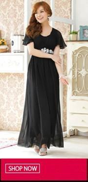 Black Long Dress 20140317