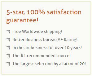 5-star, 100% satisfaction