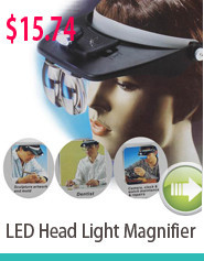 LED Head Light Magnifier
