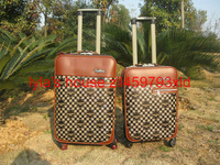 "2014 new  luggage Two-wheel system  wheel traverl bags  rolling bag 20"" 24"""