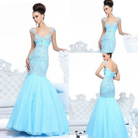 2014_Free_Shipping_New_Fashion_Cap_Seeves_Light_Blue_Prom_Dresses_Long_Mermaid_Pageant_Gowns_Long_Chiffon_new_fiesta_2014_jpg_200x200