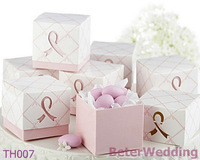 48pcs Pink Ribbon Wedding Favor Boxes BETER-TH007 http://shop72795737.taobao.com