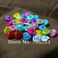 1000pcs/SETS Mixed 11 Colors Resin Buttons sets Fit Sewing or Scrapbooking Knopf Bouto 14mm NK14041508
