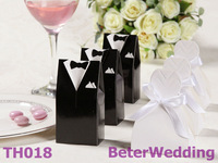 Bride and Groom Wedding Favor Boxes BETER-TH018