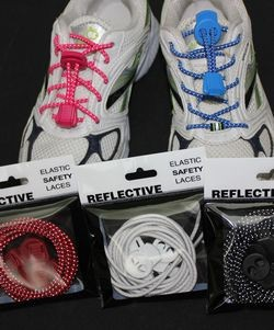 reflecetive safety laces