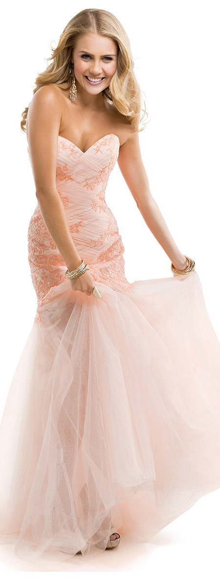 peach-pink-lace-tulle-sheer-illusion-prom-dress-P4846