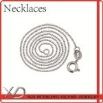 XD 925 sterling silver necklaces