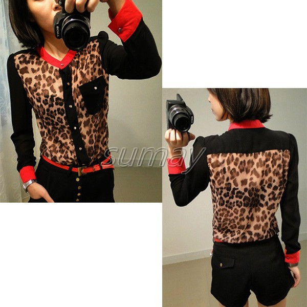 Free-Shipping-2013-Fashion-Women-s-Leopard-Chiffon-Tops-Button-Down-Shirt-Blouse-S-M-L