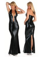 Golden_black_leather_hip_sexy_dress_dinner_party_dress_ni