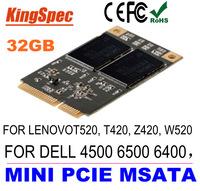 Mini PCIE mSATA SATA III ssd 32gb SSD JMF606 Hard Drive Solid State Drive Disk EP121 for Dell M4500 6500  for Lenovo Y460, Y470