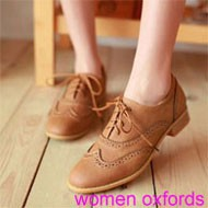 women oxfords