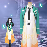 2014 New! Japanese Anime The Irregular at Magic High School character Shiba Miyuki 's friend Honoka cosplay costume