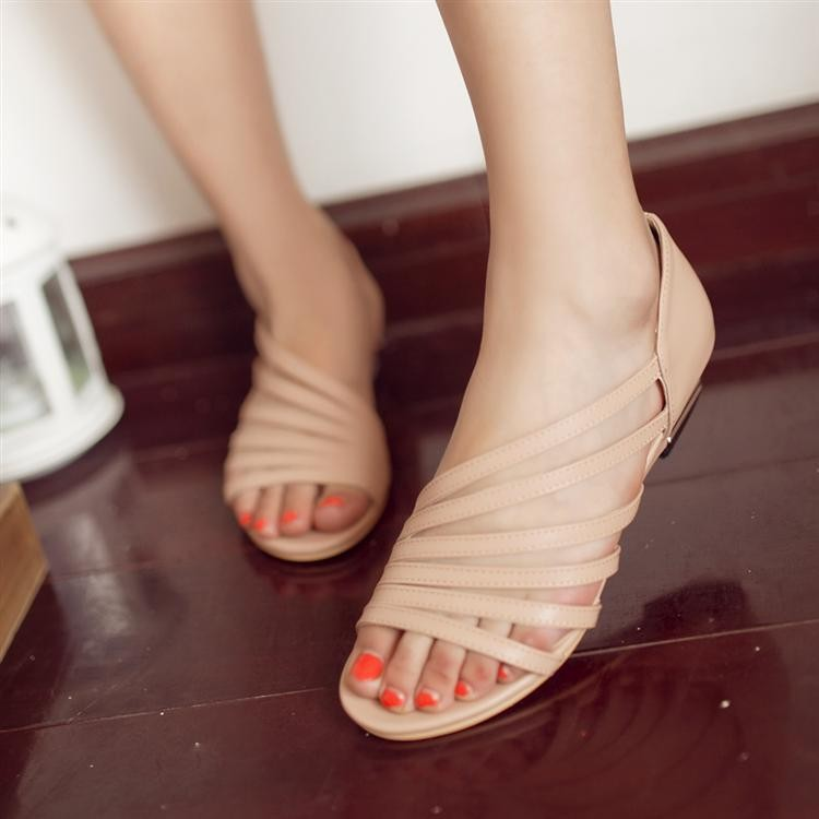 New-hot-wedding-flower-platform-flat-sandals-for-women-and-women-s-summer-shoes-women-s