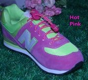 lock laces hot pink