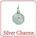 XD 925 sterling silver charms