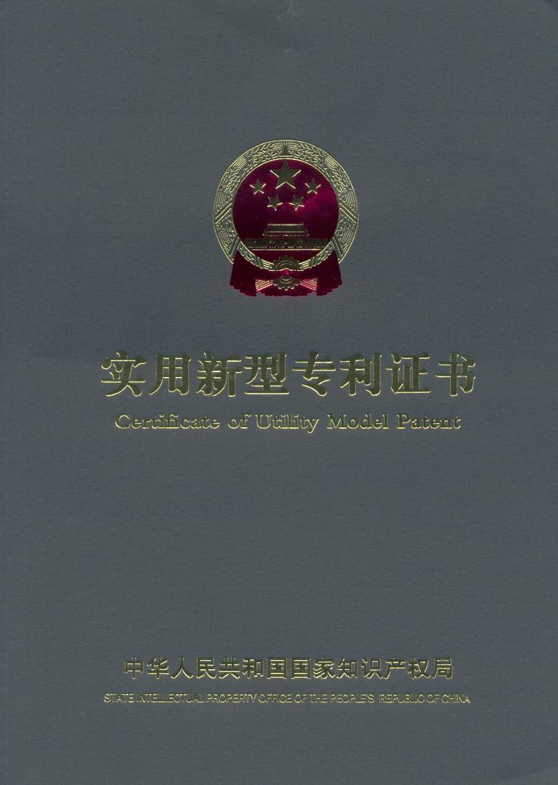 Patent Certificate-1