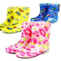 2013 ocean child rain boots child water shoes child rainboots cartoon water shoes