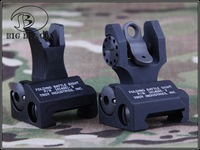 Tactical Troy Front and Rear Folding Battle sight M4 Style(TRS-1-BK) Metal Troy Front and Rear Folding Battle sights