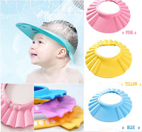 2015 Hot Adjustable Bath baby shampoo caps kids caps children Hat baby Hat baby shower shampoo with adjustable padded helmet