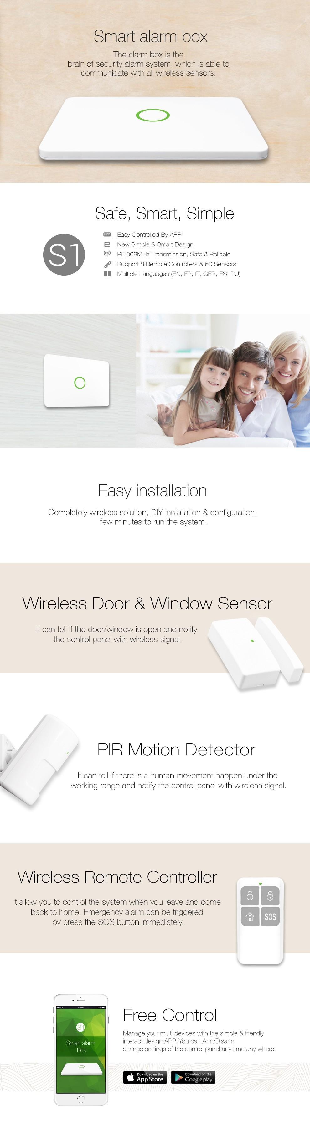 smart alarm box