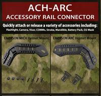 Genuine Tactical ACH-ARC Helmet Rail Connector FAST MICH Helmets accessory Mount Rail