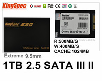 Kingspec 2.5 SATA 3 III SATA II SSD 1TB HDD 1024GB SM2246EN With Cache:1GB Hard Disk Drive Metal Case > 512GB 500GB 240GB 256GB