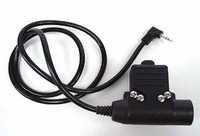 Free Shippin Tactical Gear Element U94 Headset PTT for Motorola Talkabout Radio 1 Pin