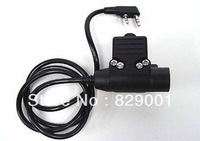 Tactical Gear Element Airsoft U94 Headset PTT for Kenwood 2 Pin Radio free ship
