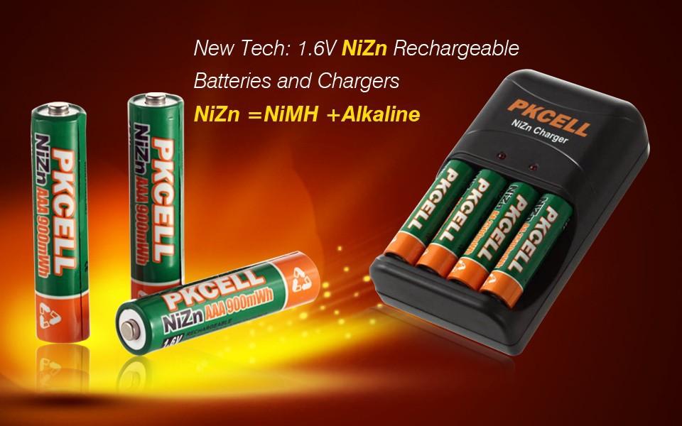 Rechargeable Batteries NiZn Ni-Zn Rechargeable Akku