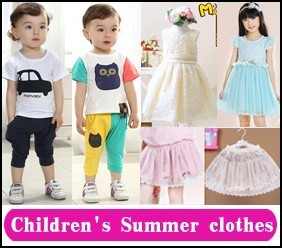 2 children's summer clothes